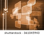 innovative technologies | Shutterstock . vector #361045943