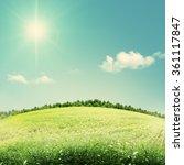 beauty seasonal backgrounds... | Shutterstock . vector #361117847