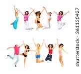 success concept team victory  | Shutterstock . vector #361120427