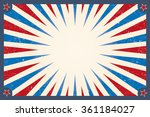 vintage circus background for a ... | Shutterstock .eps vector #361184027