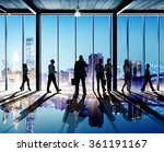 business people working working ... | Shutterstock . vector #361191167