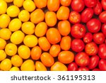 Colorful Tomatoes. Yellow ...