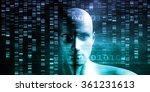 medical research in genetics... | Shutterstock . vector #361231613