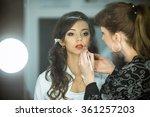 professional expert makeup... | Shutterstock . vector #361257203