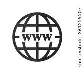 internet    vector icon   Shutterstock .eps vector #361259507