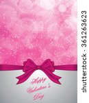 holiday background with gift... | Shutterstock .eps vector #361263623