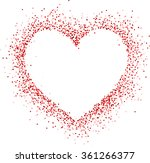 valentine love card with... | Shutterstock .eps vector #361266377