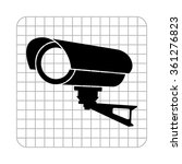 video surveillance cctv camera  ... | Shutterstock .eps vector #361276823