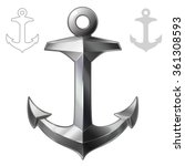 Vector Illustration Anchor...