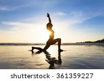 Young Fit Woman Practicing Yog...