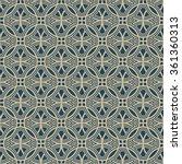 geometric vector pattern in...   Shutterstock .eps vector #361360313