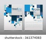 business brochure flyer design... | Shutterstock .eps vector #361374083