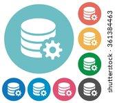 flat database configuration...
