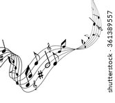 illustration of music  the...