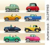 car icon set 6 | Shutterstock .eps vector #361395983