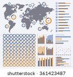 vector infographics set  ring...   Shutterstock .eps vector #361423487