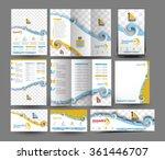 laundry service business...   Shutterstock .eps vector #361446707