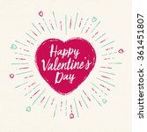 handwritten  vintage flavored... | Shutterstock .eps vector #361451807