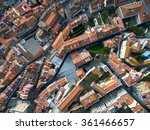 Top View Of Rooftops  Lisbon ...