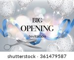 big opening background with red ... | Shutterstock .eps vector #361479587