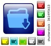 set of folder download color...