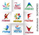 collection of vector logo...   Shutterstock .eps vector #361498583
