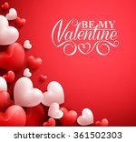 realistic 3d colorful soft and... | Shutterstock .eps vector #361502303