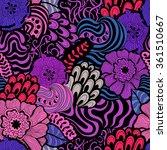 vector vivid seamless abstract...   Shutterstock .eps vector #361510667