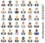 business people   set of thirty ... | Shutterstock .eps vector #361516067