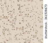 seamless pattern with korean...   Shutterstock .eps vector #361528673
