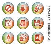 icons for website 2 | Shutterstock .eps vector #36154237