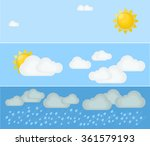 Different Types Of Weather. Da...