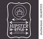 hipster style design    Shutterstock .eps vector #361609253