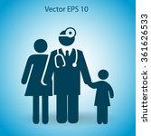 family practice vector... | Shutterstock .eps vector #361626533
