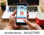 chiang mai thailand   jan 13... | Shutterstock . vector #361627583
