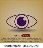 eye icon or symbol   Shutterstock .eps vector #361647293