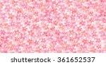 spring cherry blossom background | Shutterstock .eps vector #361652537