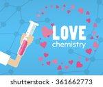 Love Chemistry Bottle Flat....