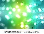 bokeh light  shimmering blur