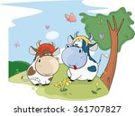 vector illustration of a two... | Shutterstock .eps vector #361707827