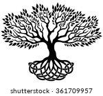 vector ornament  decorative... | Shutterstock .eps vector #361709957