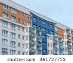low angle architectural... | Shutterstock . vector #361727753