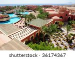 view of summer resort in sharm... | Shutterstock . vector #36174367