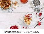 superfoods concept   overnight... | Shutterstock . vector #361748327