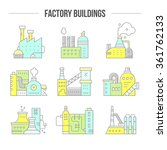 factory buildings clipart.... | Shutterstock .eps vector #361762133