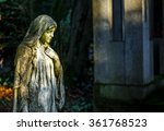 Mother Mary In Graveyard...