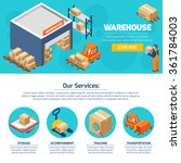one page of warehouse web site...