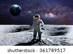 brave astronaut at the... | Shutterstock . vector #361789517