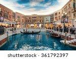 macau  china   november 27 ... | Shutterstock . vector #361792397