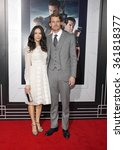 Small photo of LOS ANGELES, CALIFORNIA - January 7, 2013. Abigail Spencer and Josh Pence at the Los Angeles premiere of 'Gangster Squad' held at the Grauman's Chinese Theatre in Los Angeles.